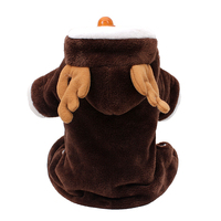 Lovable dog clothes Elk costumes small dog clothing four leg clothes
