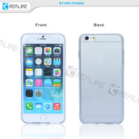 Customer design plain tpu case, crystal tpu case for iPhone 6 raw material