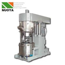 adhesive double shaft mixer