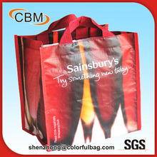 Disposable funny recycled bottle promotional wine bag