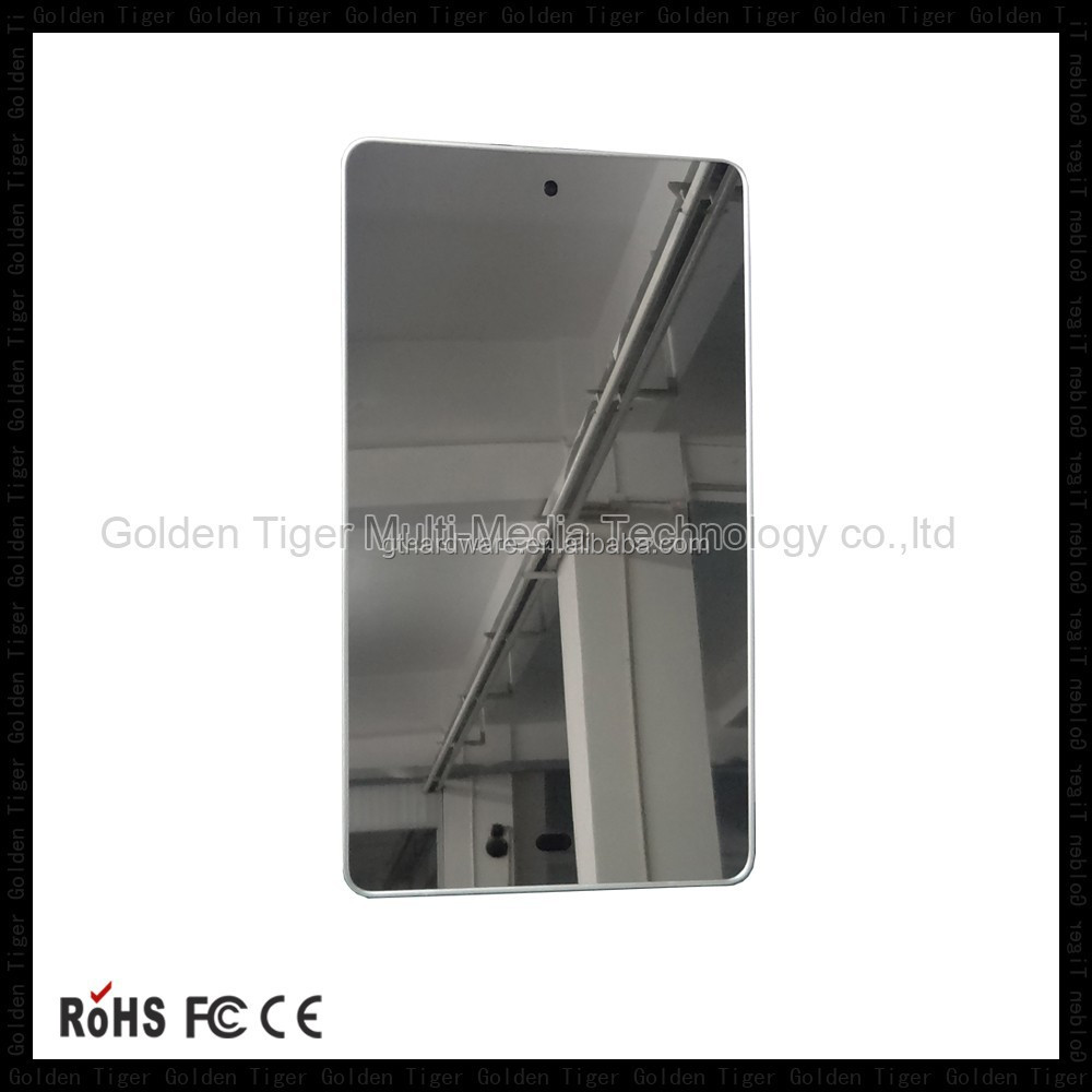 18.5 at 42 inch wall mounting magic mirror decorative with tv