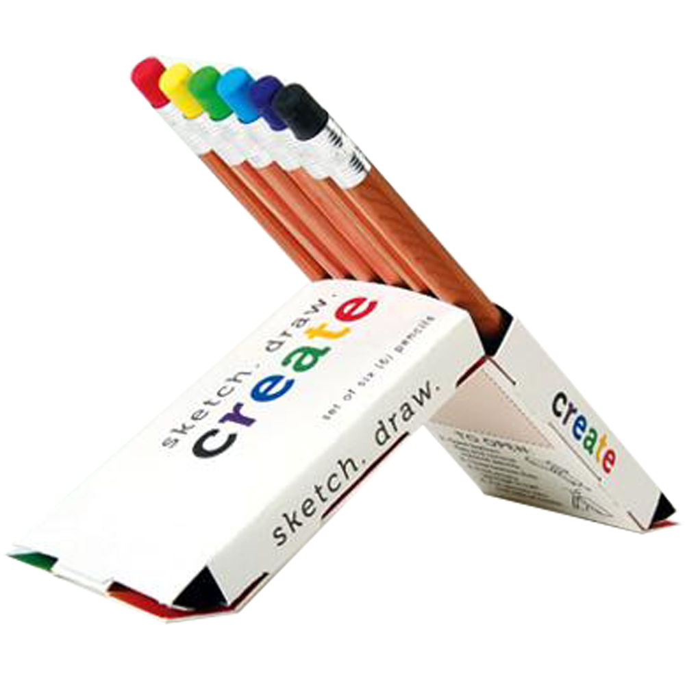 Custom print pencil packaging small quantity