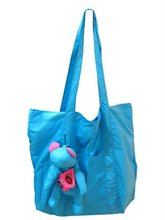 (XHF-SHOPPING-118) cute bear foldable shopping bag
