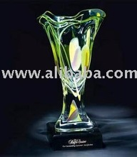 promotional giveaway plush plastic metal crystal inflatable Oceanic Vase