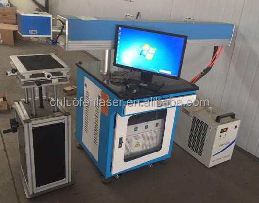 Philicam 20w fiber laser marking machine on metal wood