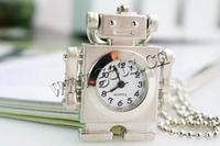 Gets.com zinc alloy fashion lovely robot necklace