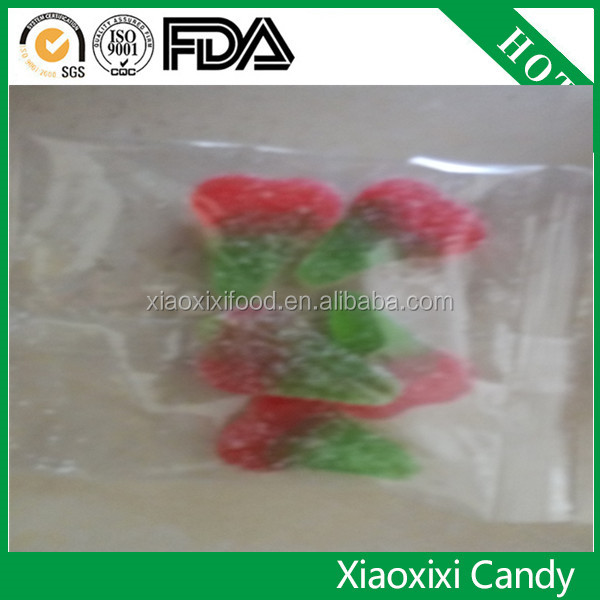 Gummy candy watermelon shaped gummy candy with new package