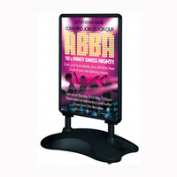 water base black sign holder 30x40 Outdoor Poster Stands