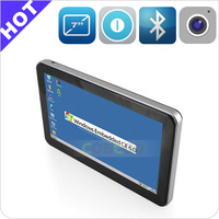 Full function GPS (Bluetooth,AV-IN,Fm etc.) 7 inch car gps maps for windows ce 6.0