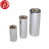 8 Micron Silver Metallized Pet Film