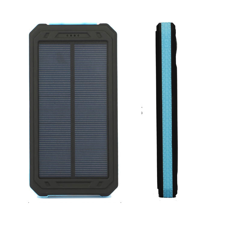 consumer <strong>electronics</strong> fast charging led display slim solar power bank dual 10000mah with type c