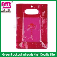 decorative printed plastic zipper bag pvc pouch bag