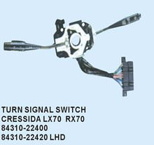 Turn signal switch for TOYOTA CRESSIDA
