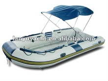 CE certificate White 430 air inflatable boat
