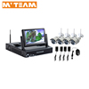 Wireless cctv 4 outdoor camera systems in china kit wifi IP camera complete set kit homes made in china