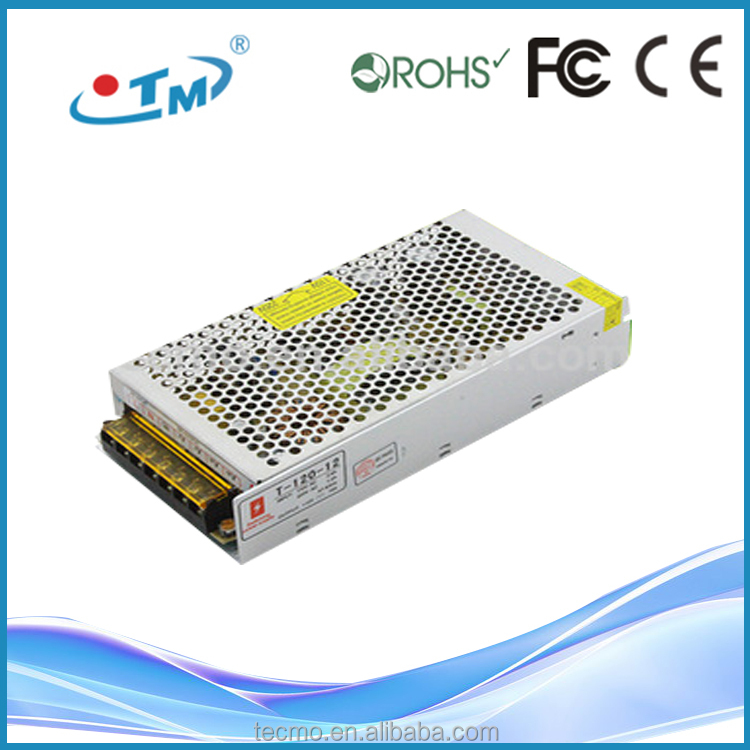 Newest design 200v 10a variable dc power supply with CE FCC 120w 12v