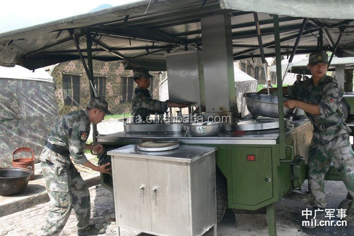 150  barracks cooking mobile kitchens for army encampment