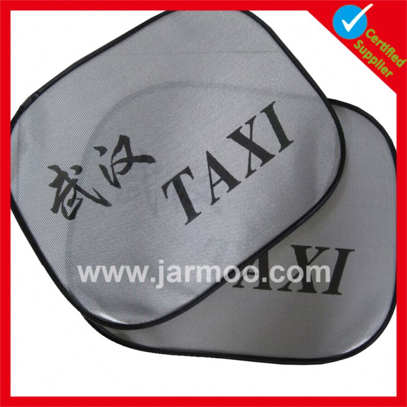 China manufacture advertising new model auto sunshade for windshield
