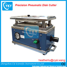 Hi Throughput Precision Pneumatic Disc Cutter for Coin Cell Separator and Electrode