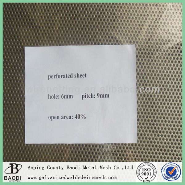 Perforated Metal Wire Mesh Sheet