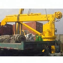Marine Deck Machinery Equipment electric hydraulic pedestal marine crane