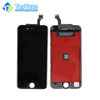 Taoyuan mobile phone lcd display touch screen for iphone 6, no dot screen for iphone6 lcd digitizer