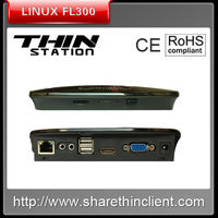 Language lab mini computer PC station thin client model FL300 support audio input and output