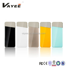 2015 Hot Selling 5500mah latest design power bank with replaceable battery