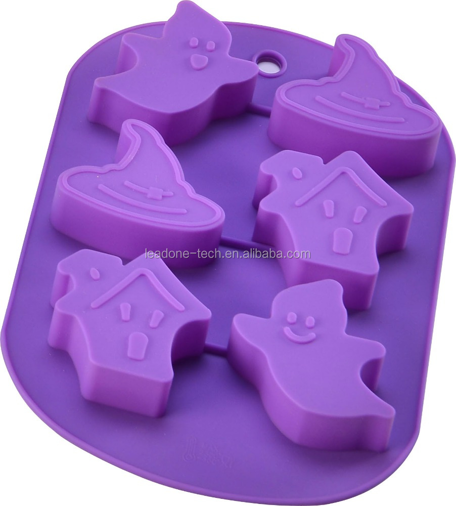 2015 designer christmas silicone cake mold for halloween