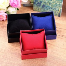Bracelet Jewelry Watch display watch holder With Foam Pad Inside Present Gift Box Case For Bangle watch boxes and packaging