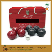 Custom Logo Budweiser Resin Bocce Ball