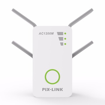 Wireless AC Dual Band 1200M 2.4Ghz 5GHz Mini Router Wifi Range Repeater Extender Booster US/EU/UK/AU Wall Plug English Firmware