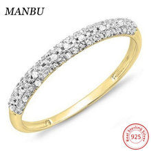 18k Gold Round Diamond Stackable Ring Jewelry