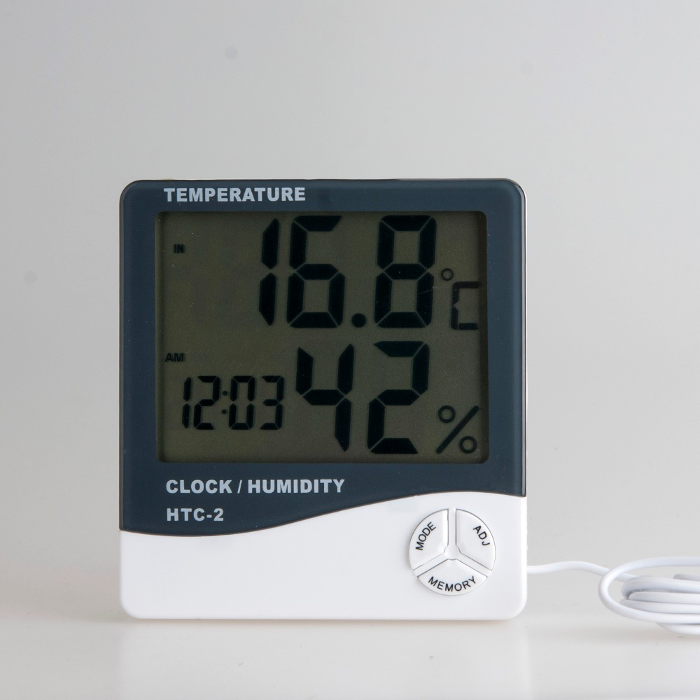 Hot selling HTC-2 Digital LCD home room temperature household Ambient thermometer
