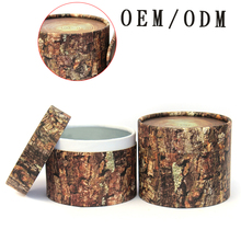 cardboard round box packaging round cardboard paper hat boxes cylinder round gift boxes with lids
