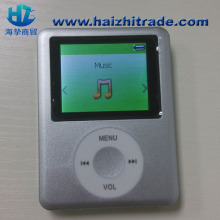 big screen mp4 player support micro sd card FM radio function