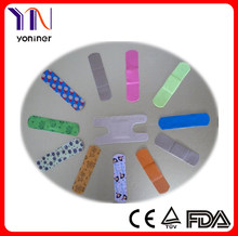 Coloured Printing cartoon adhesive bandage / wound plaster / strip