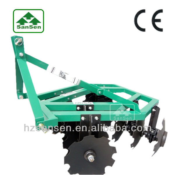 Tractor 3point mounted Disc Harrow , DisK Harrow for tractors; Farm Cultivator
