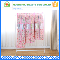ECO-friendly custom printed polyester garment bags for wedding dresses