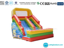 Inflatable SpongeBob Slide/Jumping Slide for Sale