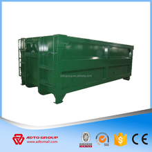 2018 hot sell waste management bin hook lift containers from China steel container factory