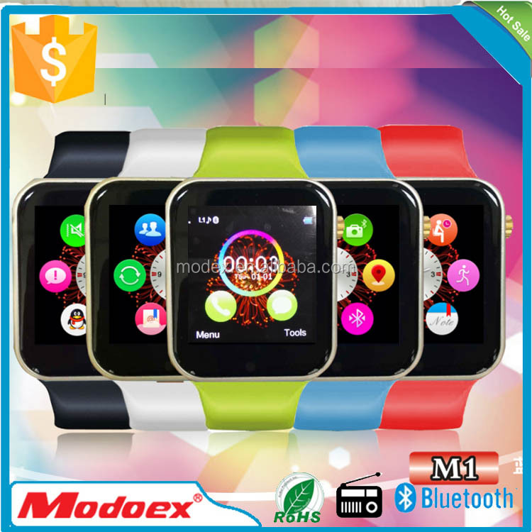 2015 Wholesale Innovative bluetooth wrist watch,fashion smart watch phone
