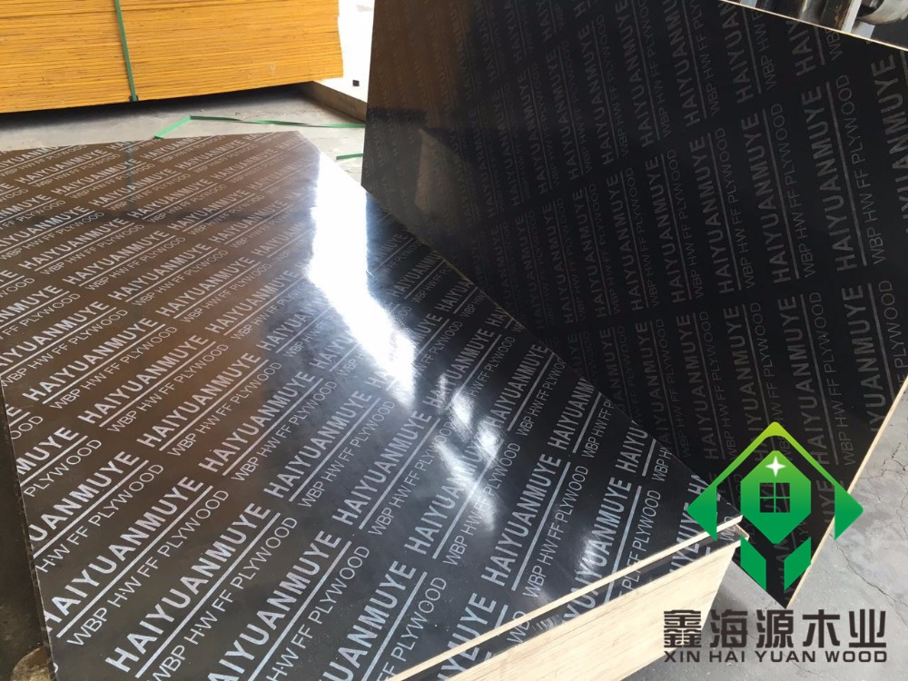 wholesale plywood price 9-22mm eucalyptus/pine/poplar core film faced plywood for construction used wbp/mealmine glue