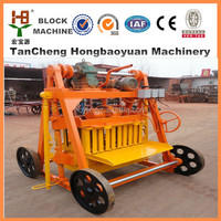 easy operate cement soil manual brick machines +++big profit mobile block machines to make money