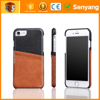 2017 Amazon hot sale product strong packing genuine leather for iphone 6 case