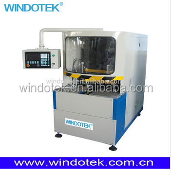 plastic pvc upvc window door cnc corner cleaning machinery SQJ-CNC-120