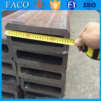 Tianjin square rectangular pipe ! 48mm od steel pipe large diameter seamless thin wall steel pipe