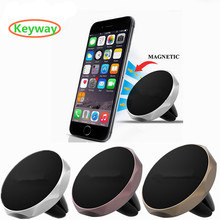 Hot sale Universal Mini Air Vent Mount Magnet Magnetic Cell Phone Mobile Holder for car