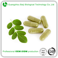 ODM Healthy Food Manufacturer Health And Diet Moringa Leaf Powder Capsule