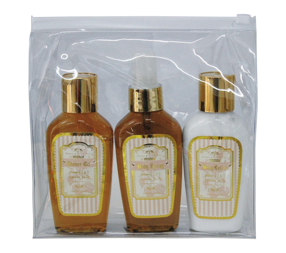 travel size body whitening lotion set for women